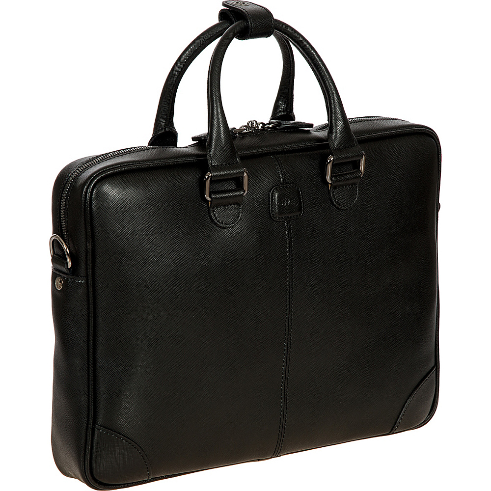 BRIC S Varese Business Briefcase Small Black BRIC S Non Wheeled Business Cases