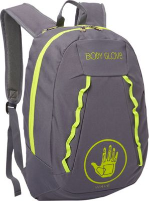 BODY GLOVE Long Lat Wave 19 inch Backpack Grey/Green - BODY GLOVE Long Lat Everyday Backpacks