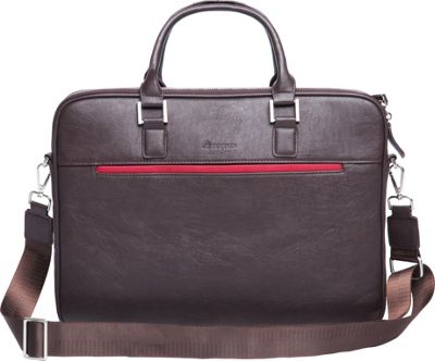 Setton Brothers Pintta Briefcase Brown - Setton Brothers Non-Wheeled Business Cases