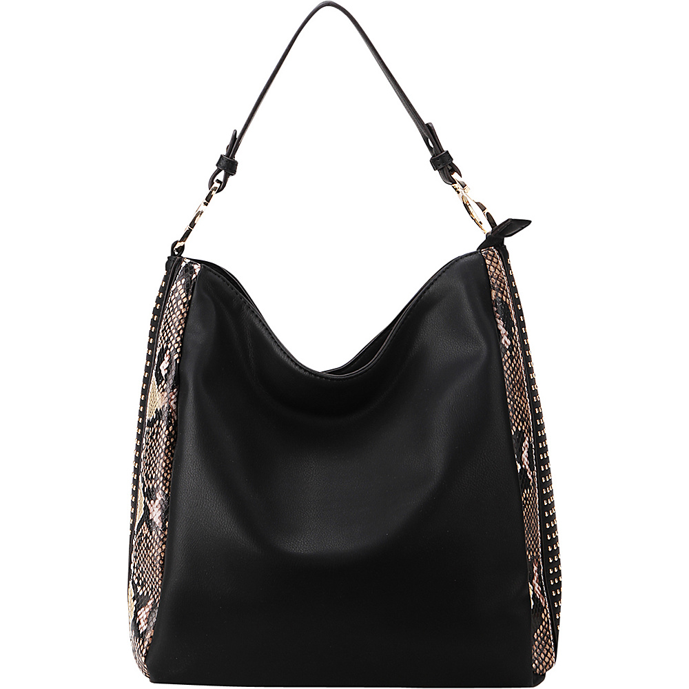 MKF Collection by Mia K. Farrow Kacy Shoulder Tote Black - MKF Collection by Mia K. Farrow Manmade Handbags - Handbags, Manmade Handbags