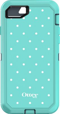 Otterbox Ingram iPhone 7 Defender Series Graphics Case Mint Dot - Otterbox Ingram Electronic Cases