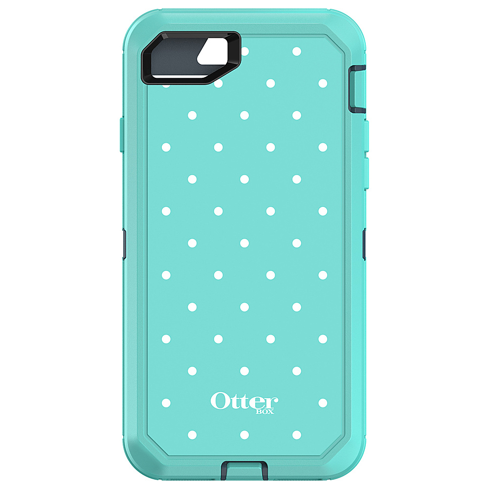 Otterbox Ingram iPhone 7 Defender Series Graphics Case Mint Dot Otterbox Ingram Electronic Cases