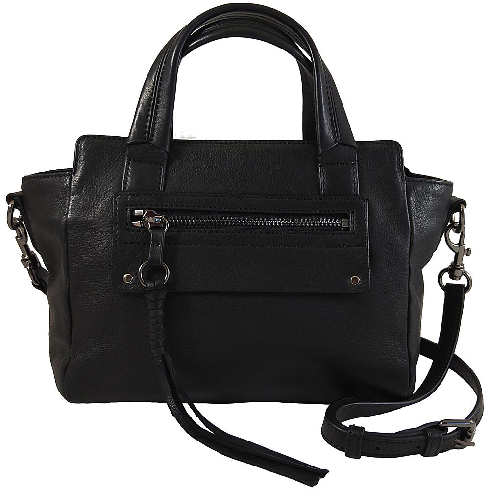 Joelle Hawkens by treesje Lidia Mini Satchel Black Joelle Hawkens by treesje Designer Handbags