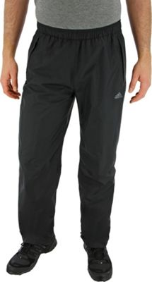 Image of adidas apparel Mens 2.5L Wandertag Climaproof Pant S - Black - adidas apparel Men's Apparel