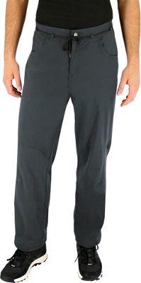 Image of adidas apparel Mens Edo Climb Pant 34 - Utility Black - adidas apparel Men's Apparel