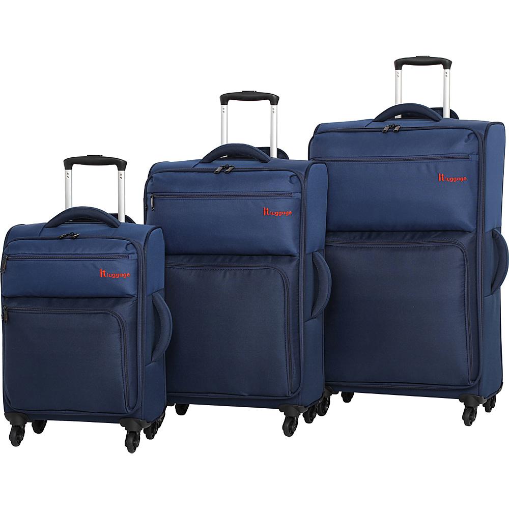 it luggage DuoTone 4 Wheel 3 Piece Set 10 Colors Luggage Set NEW ...