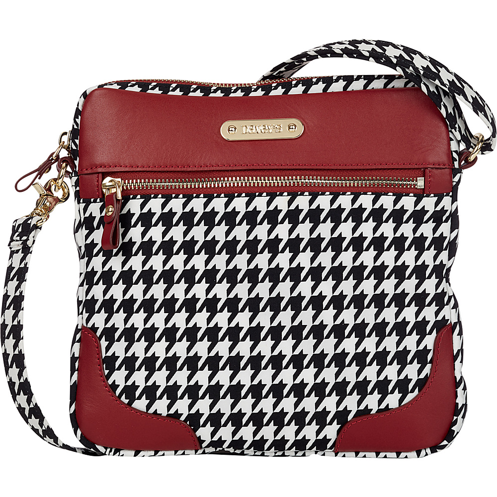 Davey s Easy Crossbody Houndstooth Davey s Fabric Handbags