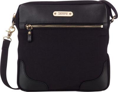 Davey's Easy Crossbody Black - Davey's Fabric Handbags