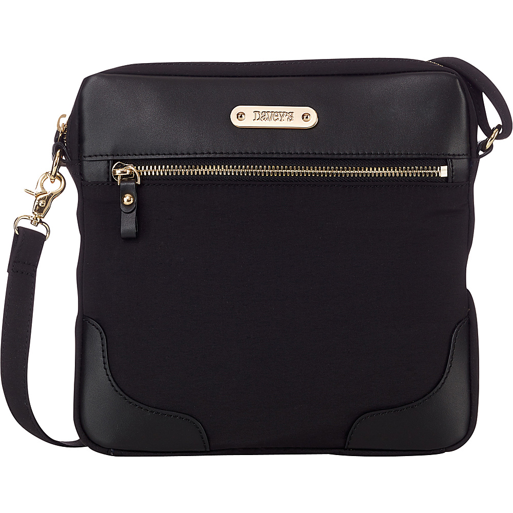 Davey s Easy Crossbody Black Davey s Fabric Handbags