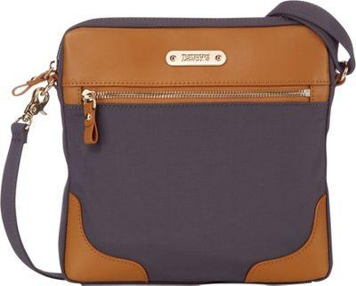 Davey's Easy Crossbody Grey - Davey's Fabric Handbags