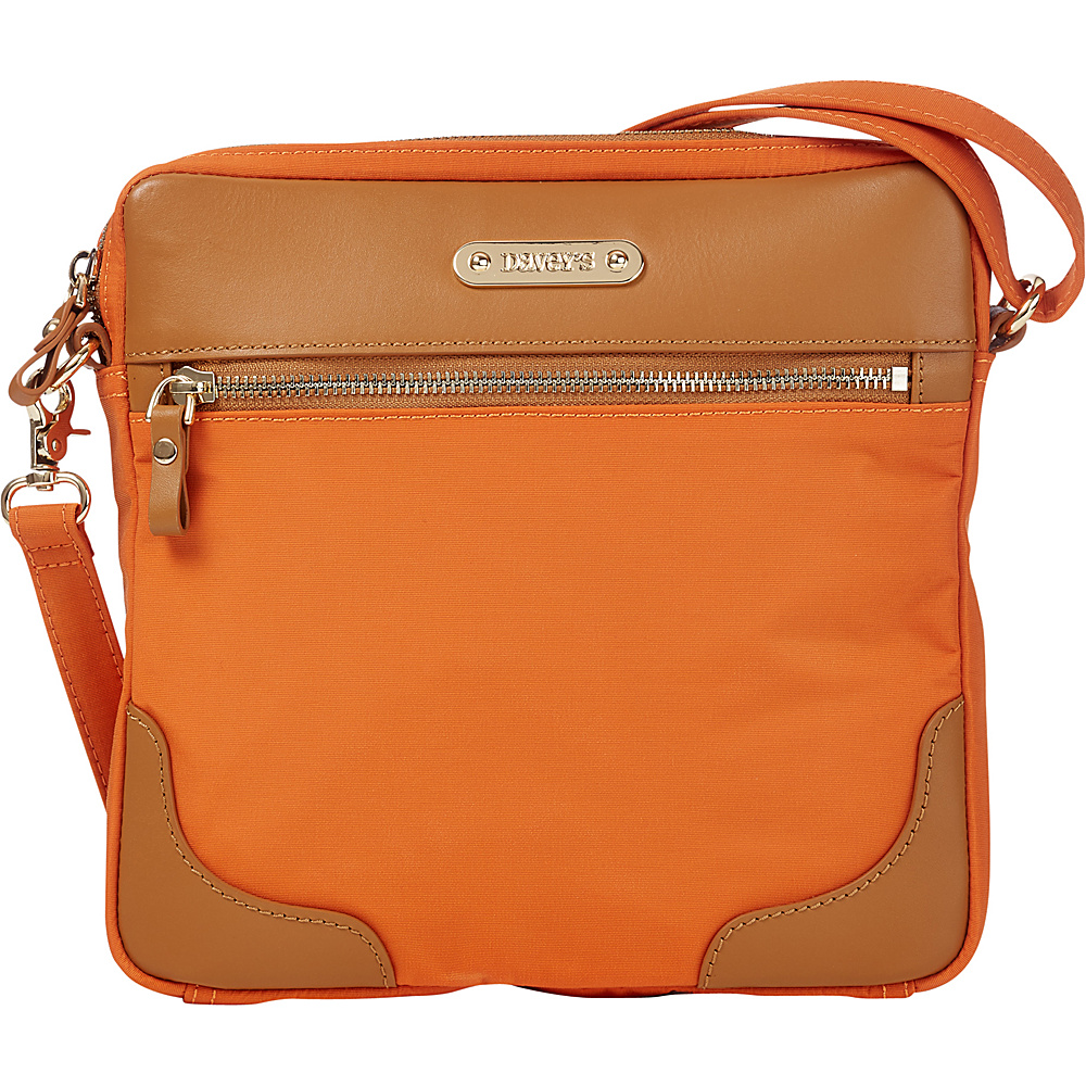 Davey s Easy Crossbody Burnt Orange Davey s Fabric Handbags