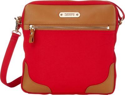 Davey's Easy Crossbody Red - Davey's Fabric Handbags