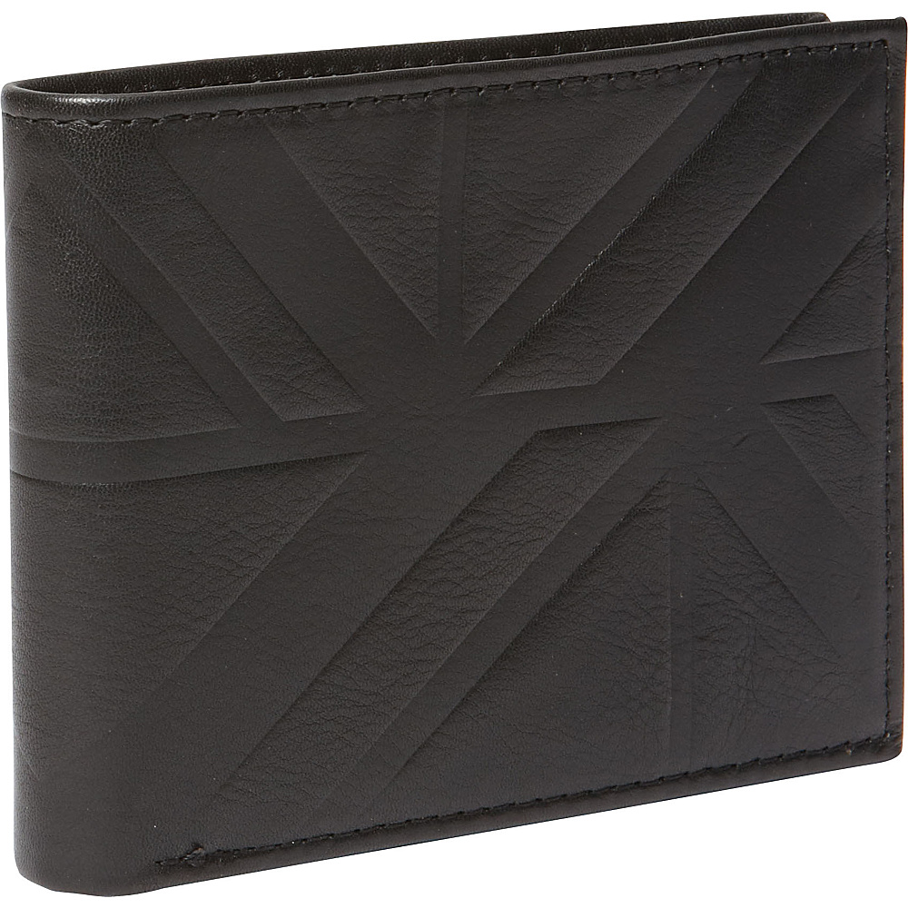 Ben Sherman Luggage Woodside Park Leather RFID Five Pocket Billfold Wallet Black Ben Sherman Luggage Men s Wallets
