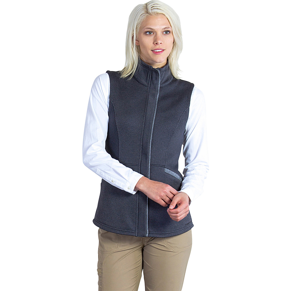 ExOfficio Womens Thermique Vest M - Black - ExOfficio Womens Apparel - Apparel & Footwear, Women's Apparel