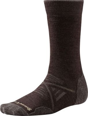 Smartwool PhD Outdoor Medium Crew L - Chestnut - Large - Smartwool Men's Legwear/Socks