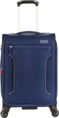 Antler Cyberlite II DLX 21 inch Carry On Spinner Navy - Antler Softside Carry-On