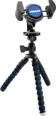 """ARKON 11"""""""" Tripod with Phone Holder Mount for Streaming Live Video Black - ARKON Camera Accessories"""