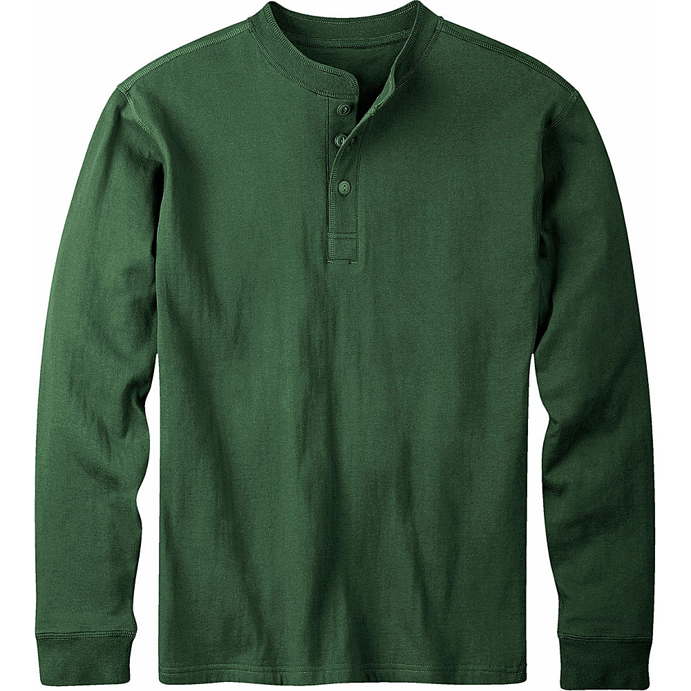 Mountain Khakis Trapper Henley Shirt 2XL - Hunter Green - Mountain Khakis Mens Apparel - Apparel & Footwear, Men's Apparel