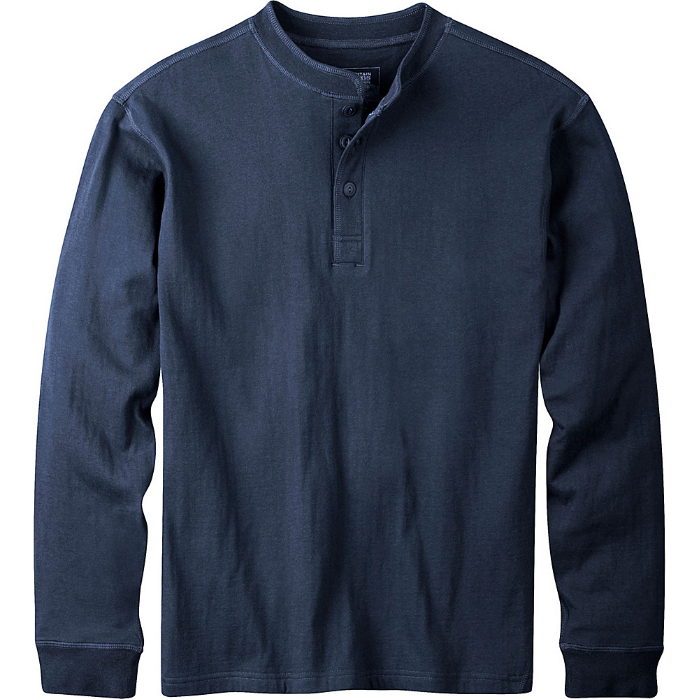 Mountain Khakis Trapper Henley Shirt S - Navy - Mountain Khakis Mens Apparel - Apparel & Footwear, Men's Apparel