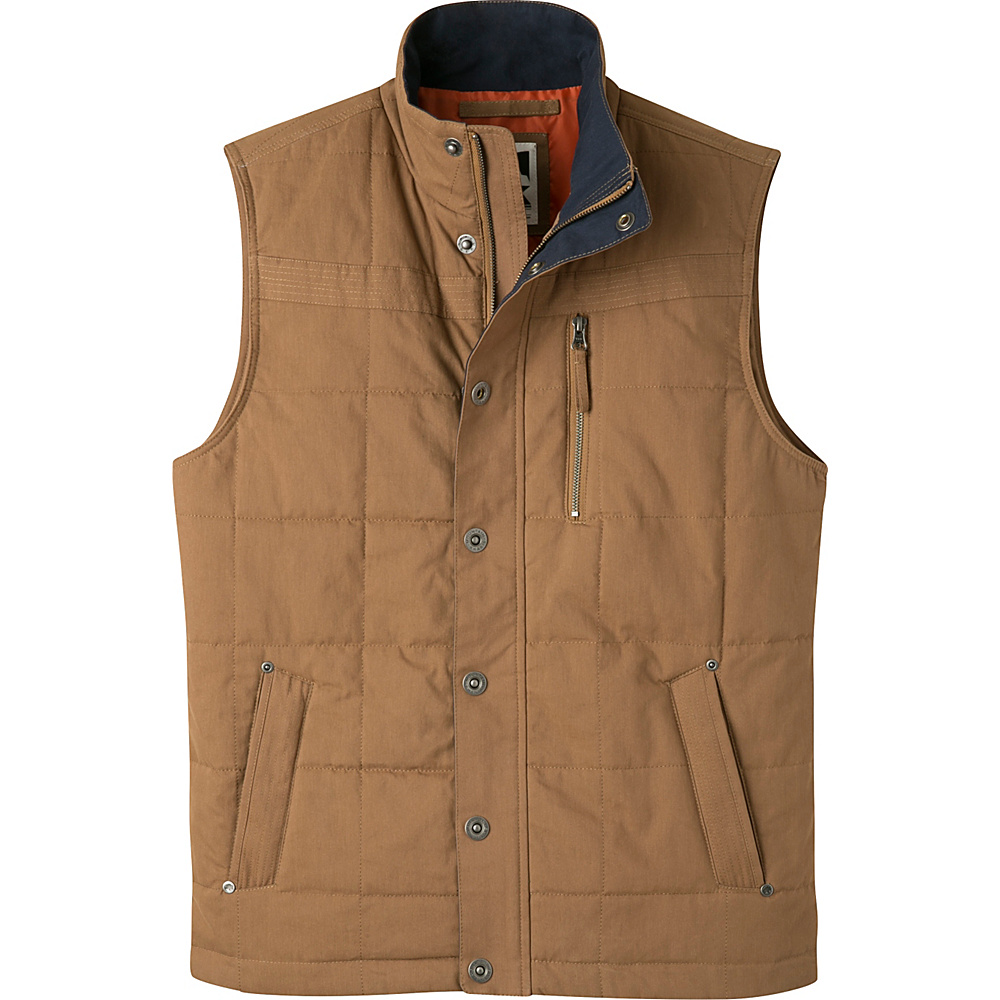 Mountain Khakis Swagger Vest S - Tobacco - Mountain Khakis Mens Apparel - Apparel & Footwear, Men's Apparel