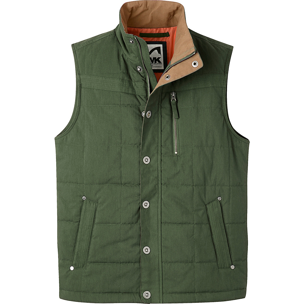 Mountain Khakis Swagger Vest M - Rainforest - Mountain Khakis Mens Apparel - Apparel & Footwear, Men's Apparel