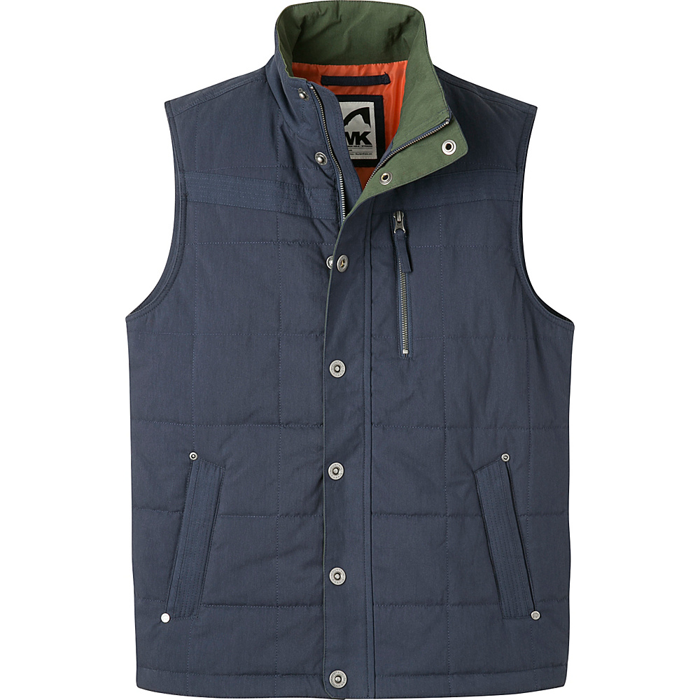 Mountain Khakis Swagger Vest 2XL - Navy - Mountain Khakis Mens Apparel - Apparel & Footwear, Men's Apparel
