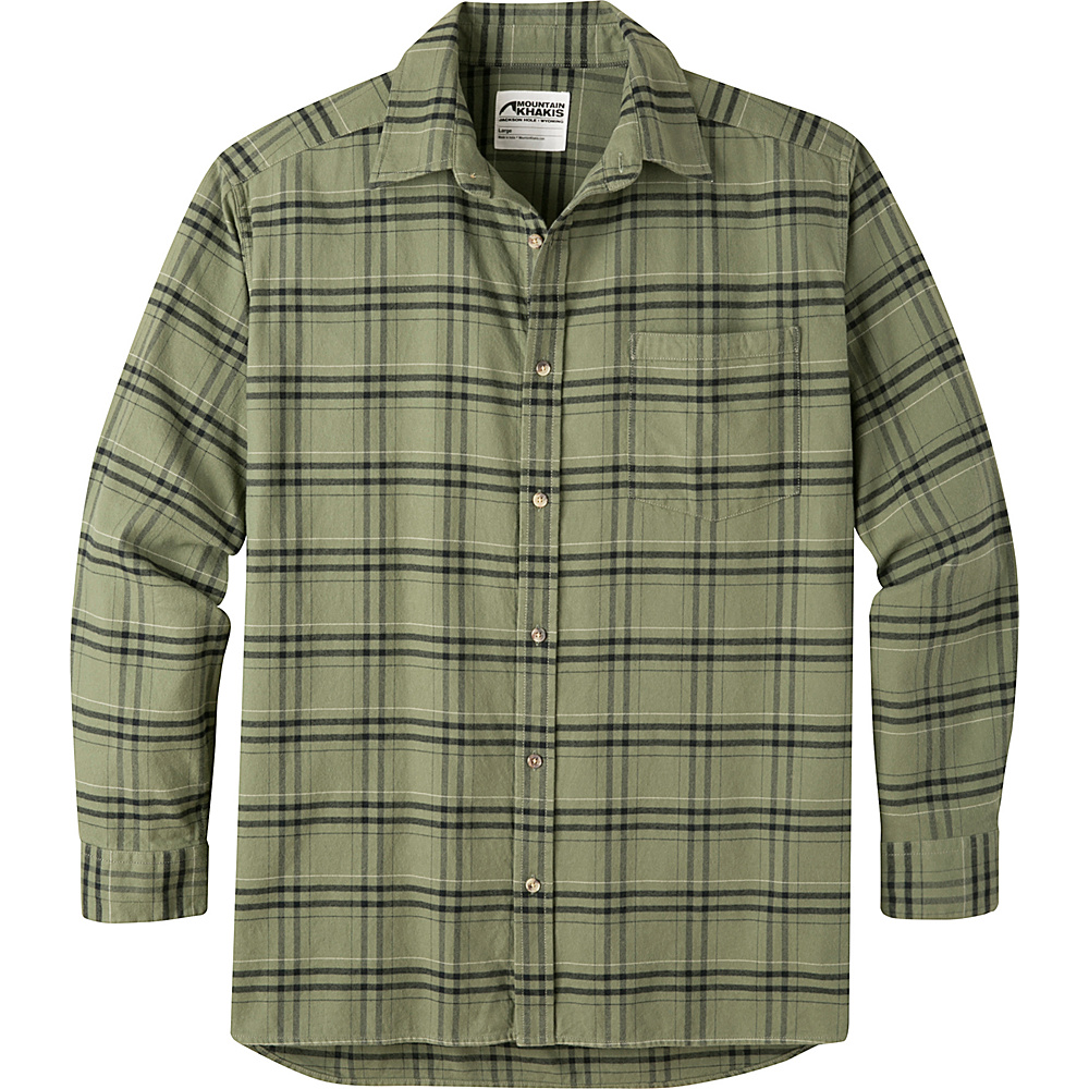 Mountain Khakis Peden Plaid Shirt S - Olive Drab - Mountain Khakis Mens Apparel - Apparel & Footwear, Men's Apparel