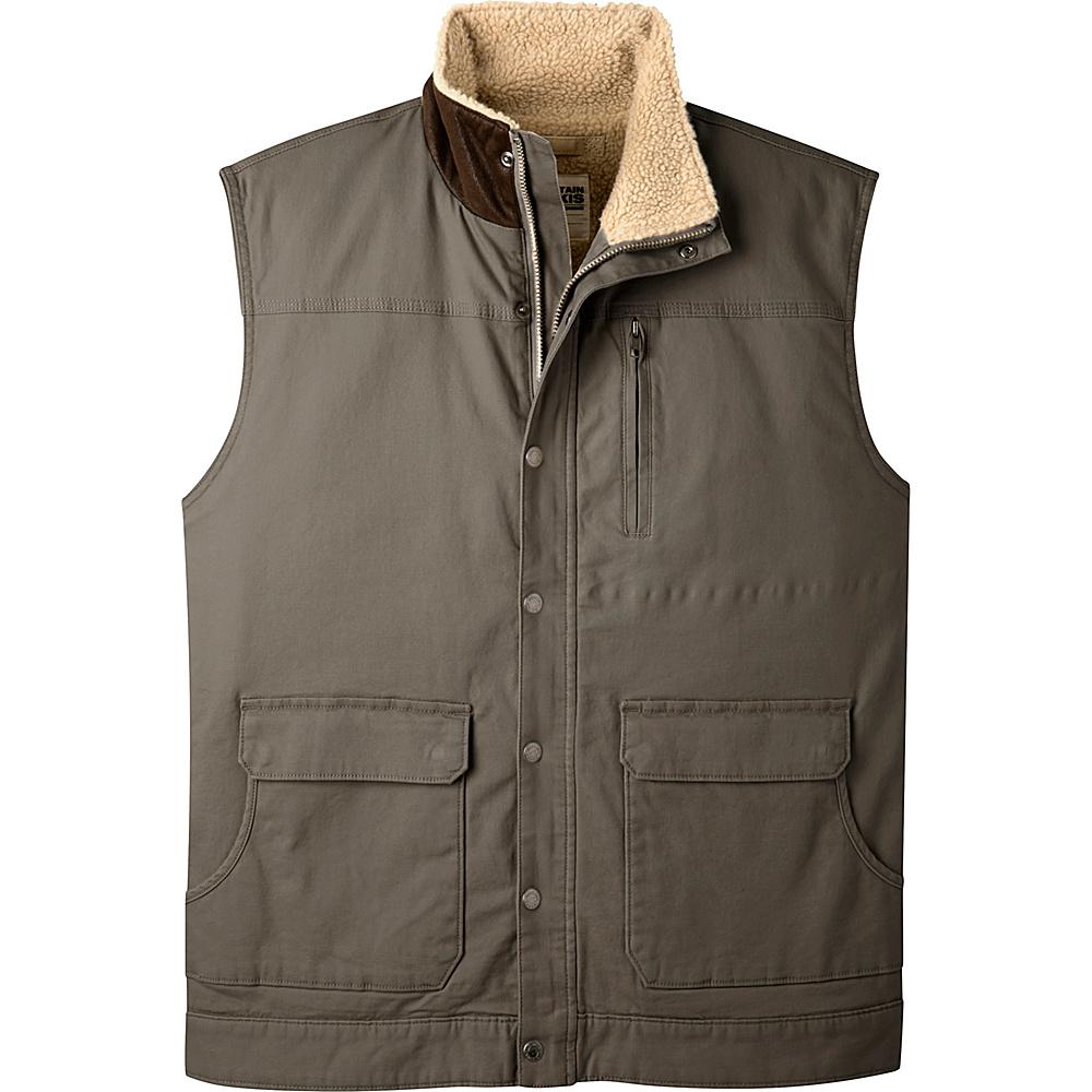 Mountain Khakis Ranch Shearling Vest S - Terra - Mountain Khakis Mens Apparel - Apparel & Footwear, Men's Apparel