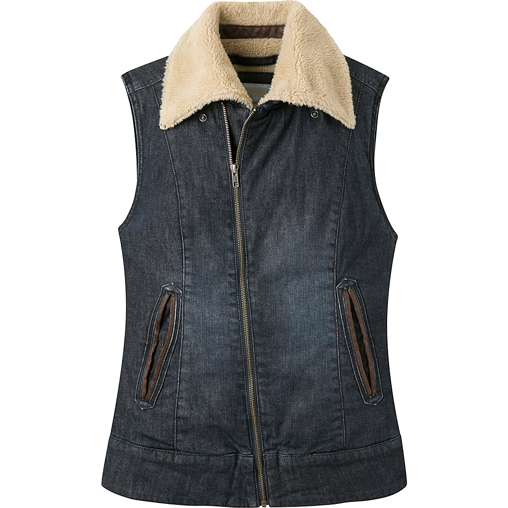Mountain Khakis Ranch Shearling Vest S - Dark Denim - Mountain Khakis Womens Apparel - Apparel & Footwear, Women's Apparel
