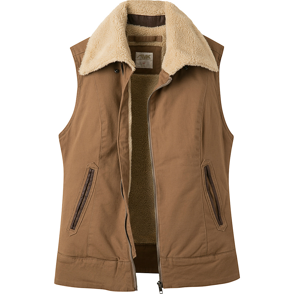 Mountain Khakis Ranch Shearling Vest S - Tobacco - Mountain Khakis Womens Apparel - Apparel & Footwear, Women's Apparel