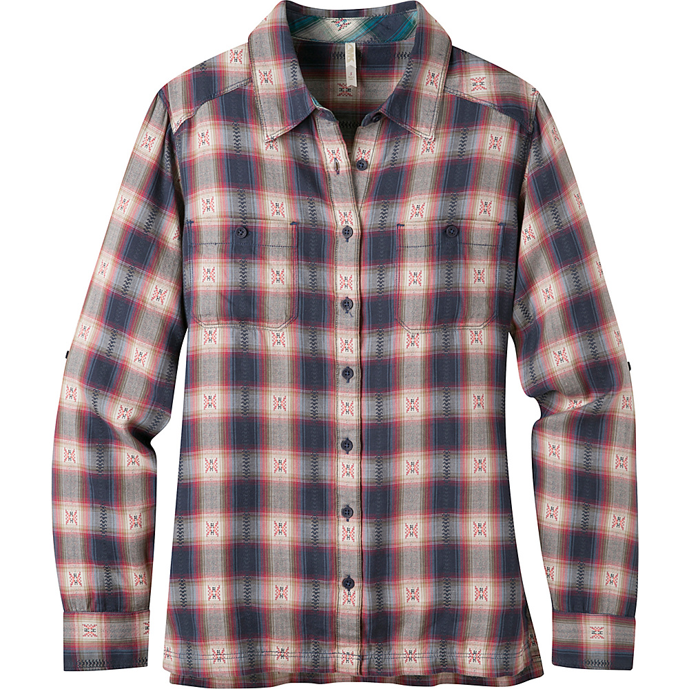 Mountain Khakis Tavern Flannel Shirt S - Dusty Rose - Mountain Khakis Womens Apparel - Apparel & Footwear, Women's Apparel