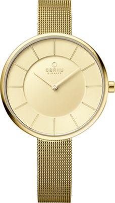 Obaku Watches Womens Stainless Steel Mesh Watch Gold/Gold - Obaku Watches Watches
