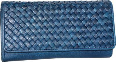 Nino Bossi My Woven Wallet Denim - Nino Bossi Women's Wallets