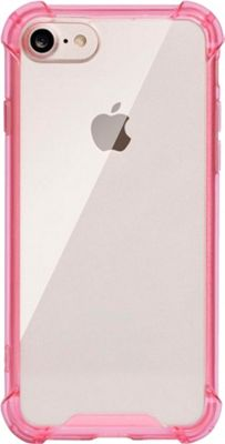 LAX Gadgets iPhone Plus 7 Clear Case Pink - LAX Gadgets Electronic Cases