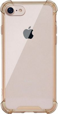 LAX Gadgets iPhone Plus 7 Clear Case Gold - LAX Gadgets Electronic Cases