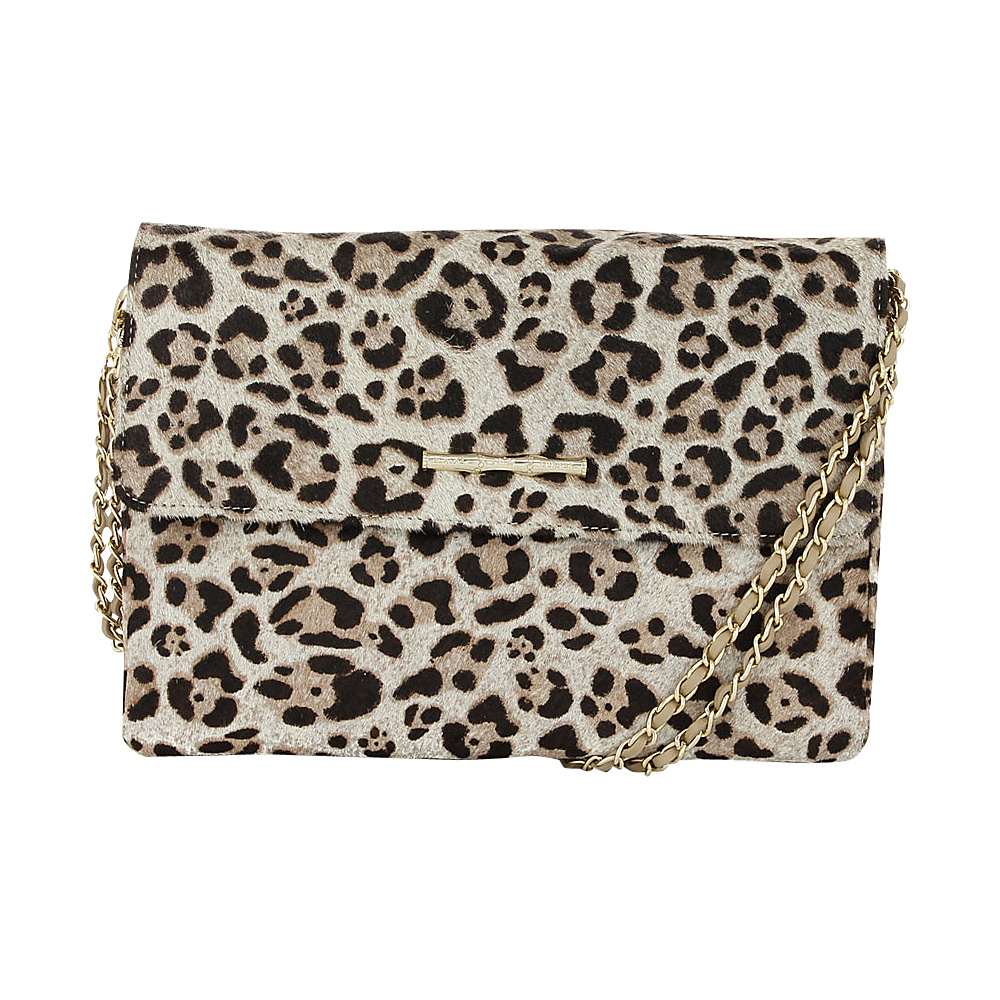 Elaine Turner Daphne Fur Crossbody Jaguar Haircalf Elaine Turner Designer Handbags