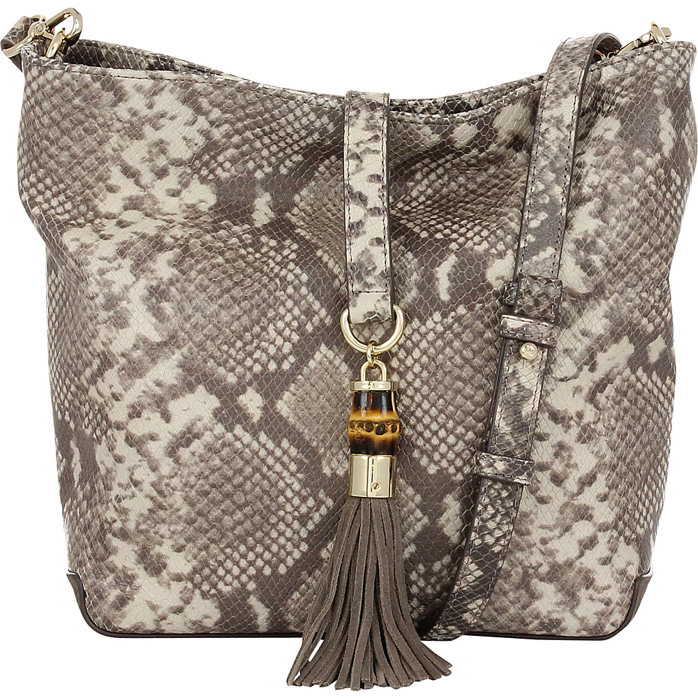 Elaine Turner Lilou Python Crossbody Prairie Snake Elaine Turner Designer Handbags