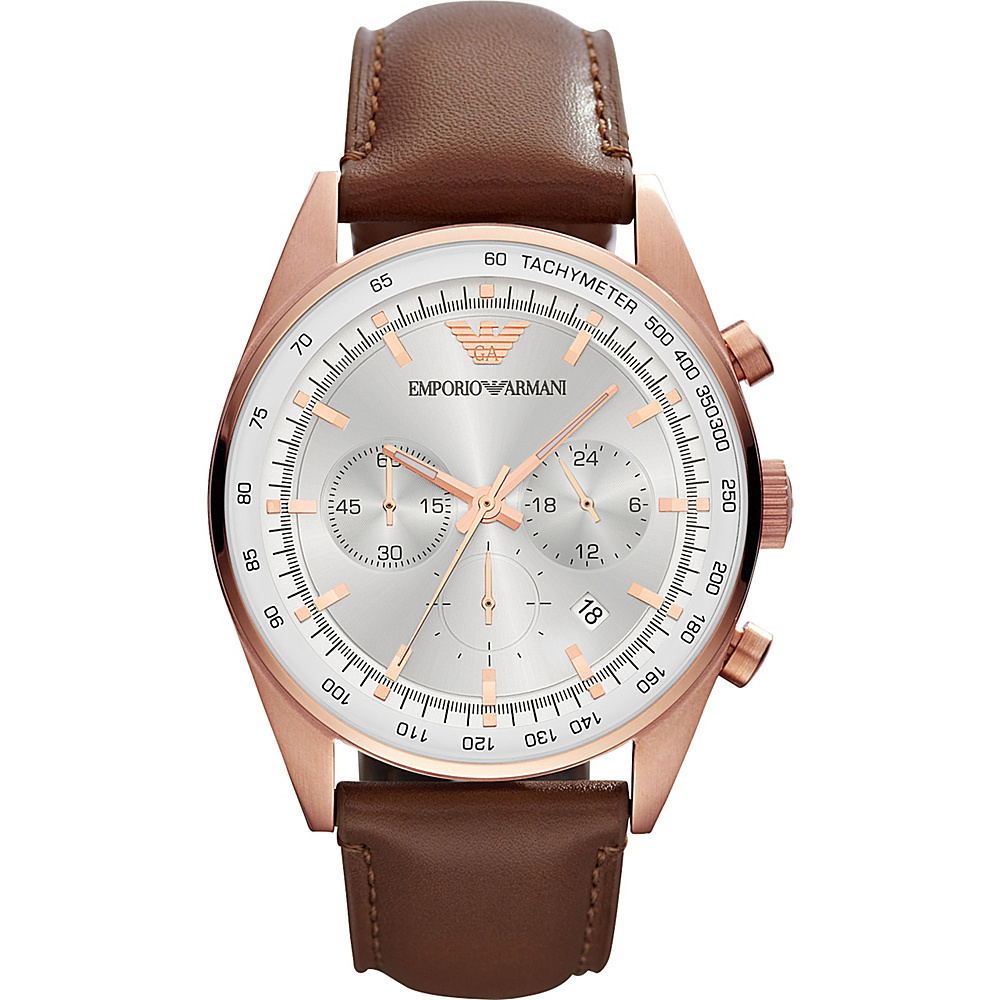 Emporio Armani Sportivo Watch Brown Emporio Armani Watches