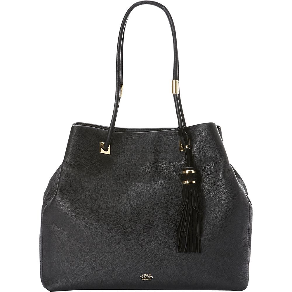 Vince Camuto Cava Tote Black Vince Camuto Designer Handbags