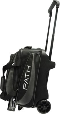 Pyramid Path Double Deluxe Roller Bowling Bag Silver - Pyramid Bowling Bags