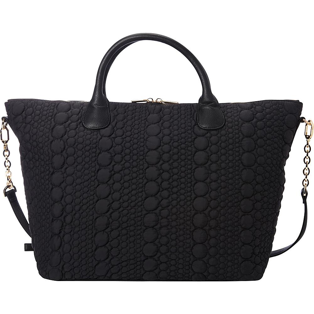 deux lux Stockholm Weekender Tote Black deux lux Fabric Handbags