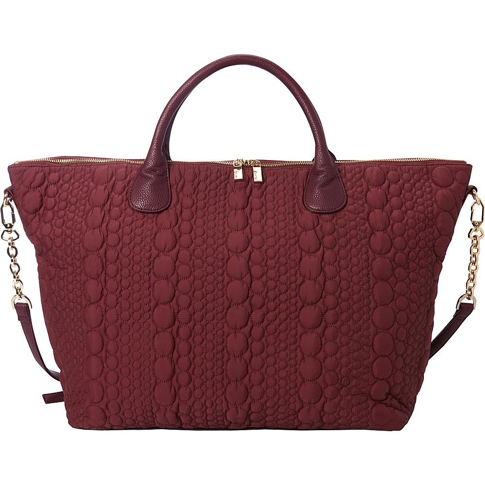 deux lux Stockholm Weekender Tote Wine deux lux Fabric Handbags