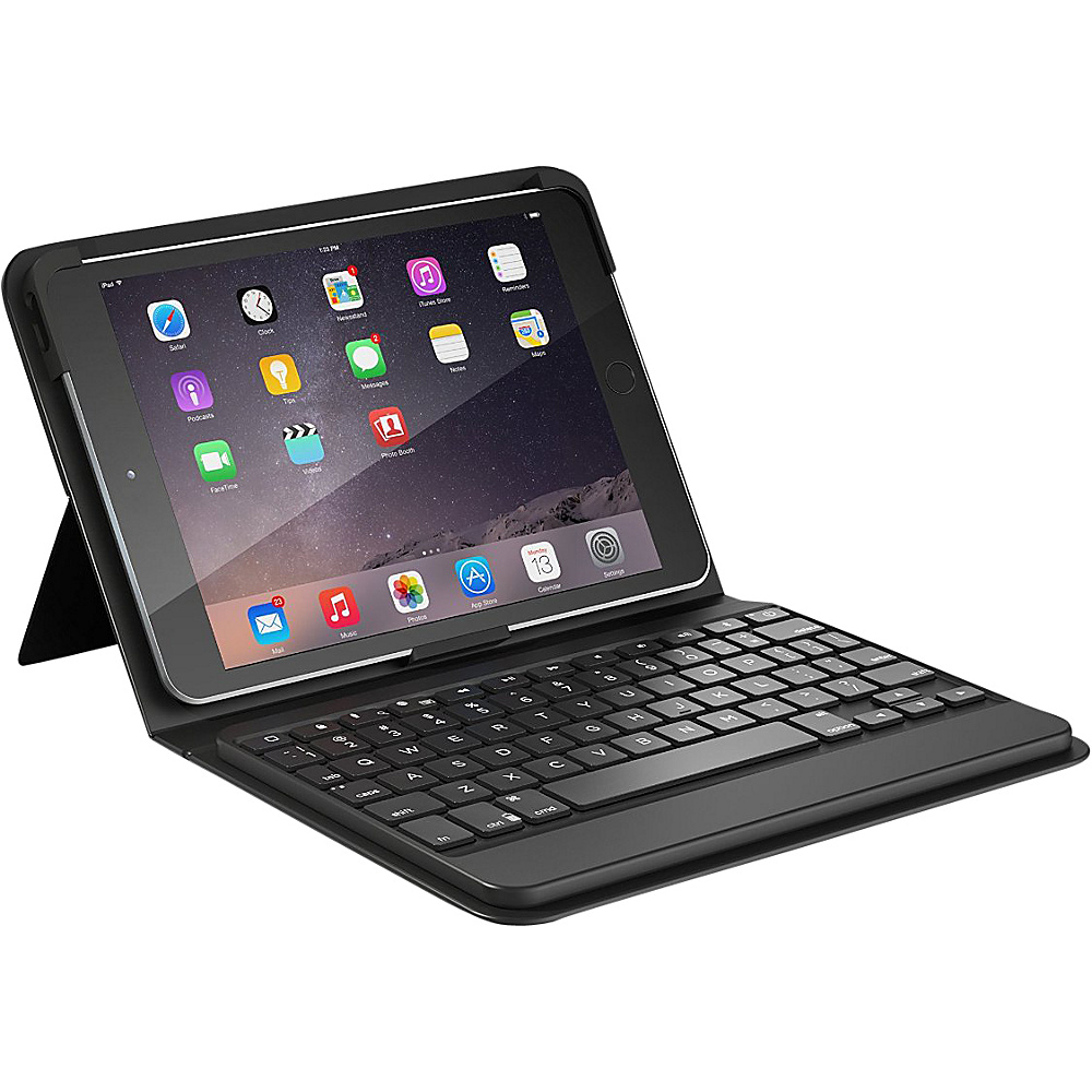 Zagg Messenger Folio Keyboard Case for iPad Mini 2 3 Black Zagg Electronic Cases