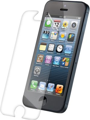 Zagg invisibleSHIELD Glass Apple iPhone 5 Screen Protector Clear - Zagg Electronic Cases