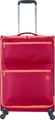 Revelation Weightless 26 inch Spinner Luggage Deep Red - Revelation Softside Checked