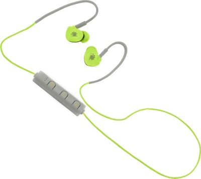 Zunammy Z Budz Bluetooth Sports Earbuds with Mic and Volume Settings Green - Zunammy Headphones & Speakers