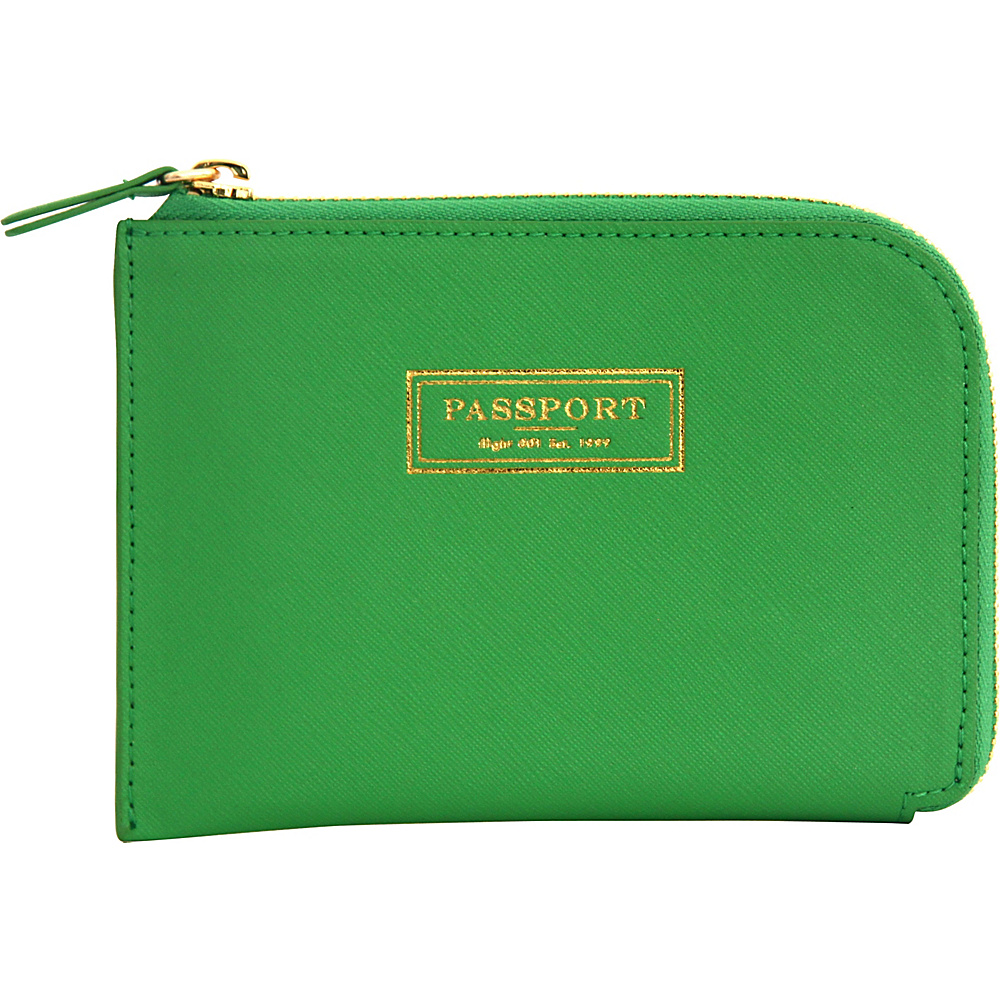 Flight 001 Correspondent Passport Wallet Green Flight 001 Travel Wallets