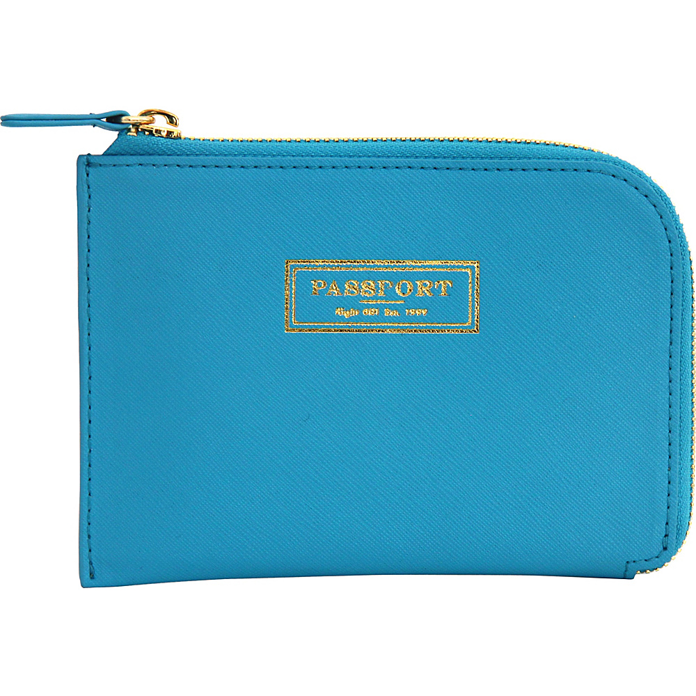 Flight 001 Correspondent Passport Wallet Blue Flight 001 Travel Wallets