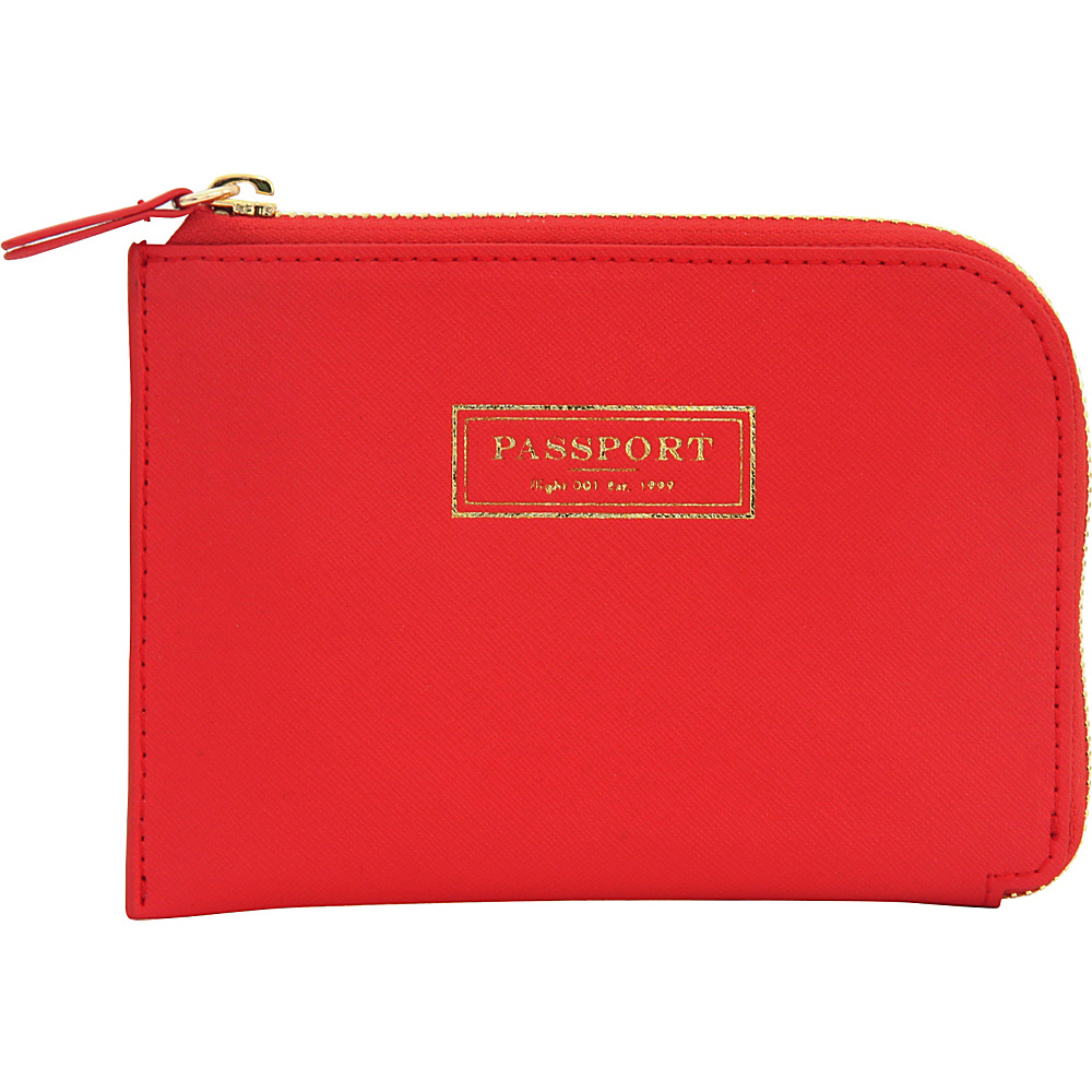 Flight 001 Correspondent Passport Wallet Red Flight 001 Travel Wallets