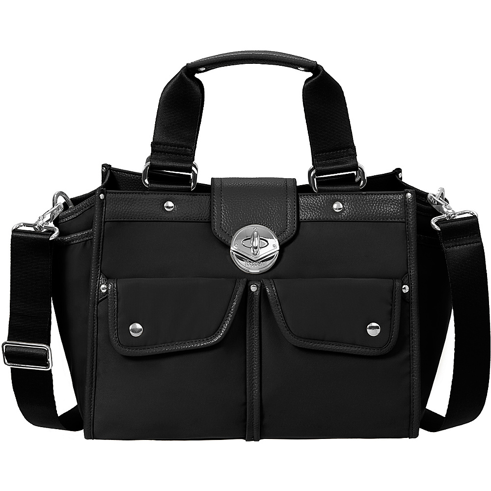 baggallini Stanhope Satchel Black - baggallini Fabric Handbags - Handbags, Fabric Handbags